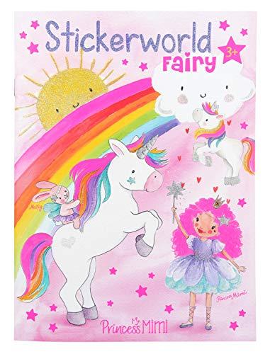 Depesche 10931 Malbuch mit Stickern, Princess Mimi Fairy, ca. 18 x 24,5 x 0,5 cm, bunt