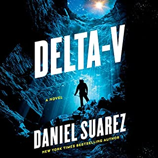 Delta-v audiobook cover art