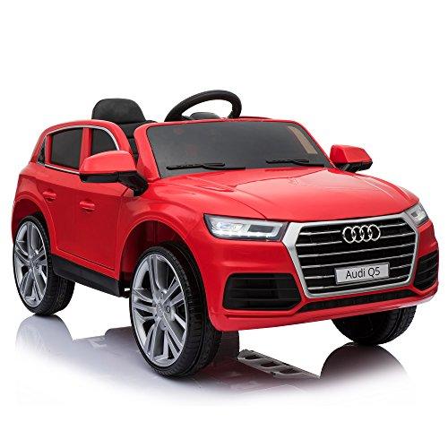 HOMCOM Coche Eléctrico para Niño 3-8 Años Audi Q5 con Mando a...