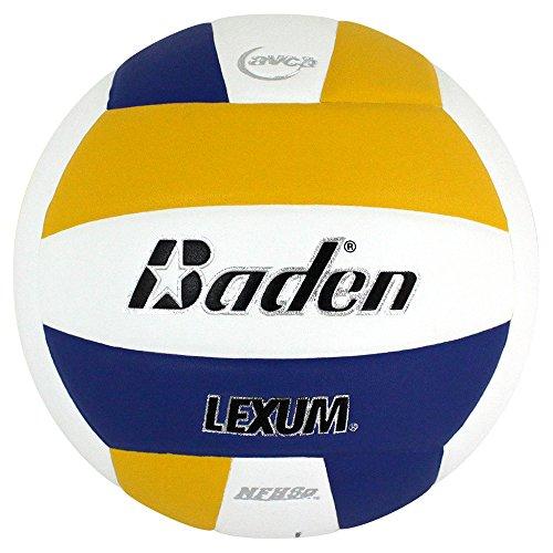 Baden Lexum Composite Game Volleyball, Royal/White/Yellow, Größe 5