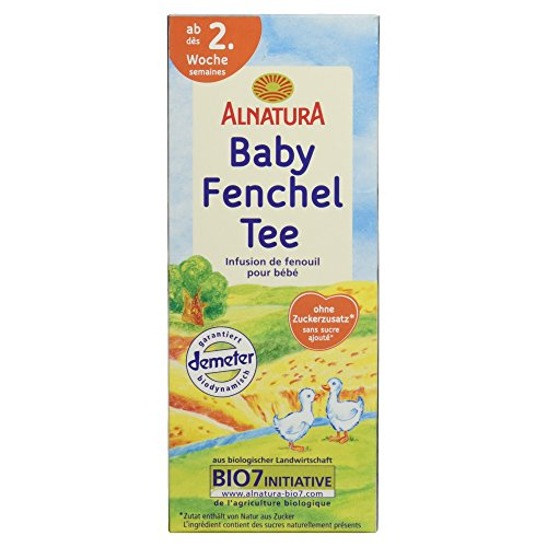 Alnatura Bio Baby-Fencheltee, 20 Beutel, 6er Pack (6 x 35 g)