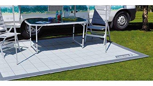 Conver Tapis de sol, pour auvent - Idéal pour camping ou camping-car - Dimensions : 400x 250cm
