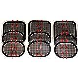 スレンダートーン 対応 EMS互換交換パッドパッド 3枚x3セット 合計9枚 約3カ月分 (正面用 3枚 + 脇腹用6枚)
