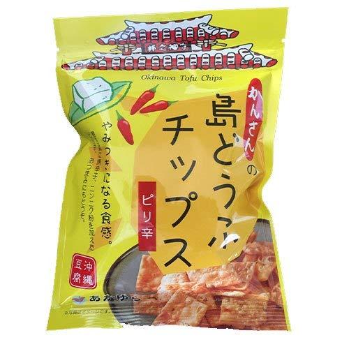 島どうふチップス ピリ辛 65g×10袋 あかゆら 沖縄豆腐 とうふがサクッ やみつき食感 ヘルシーなおやつ