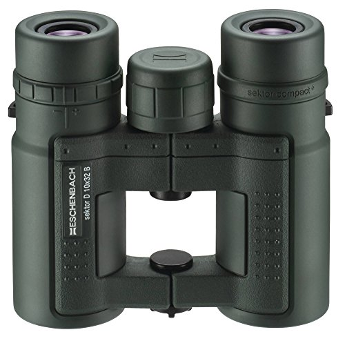 Eschenbach Optik Fernglas sektor D 10x32 compact+, wasserdicht, extrem robust, grün