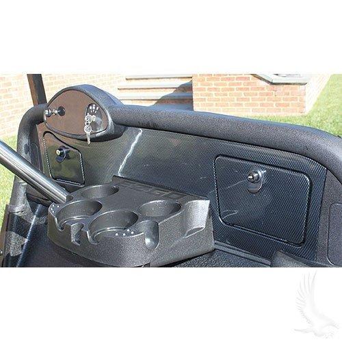 EZGO RXV Golf Cart Custom Dash - Carbon Fiber