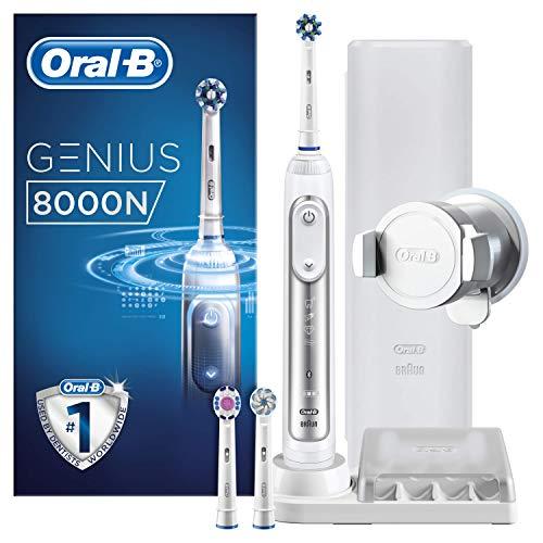 Oral-B Genius 8000N Elektrische Zahnbürste, weiß