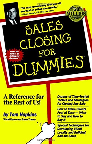 Hopkins, T: Sales Closing For Dummies