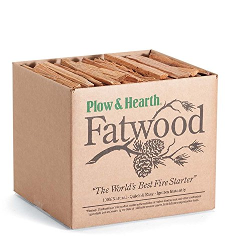 Fatwood 10 LB Box Fire Starter All Natural Organic Resin Rich Eco Friendly Kindling Sticks for Wood Stoves, Fireplaces, Campfires, Fire Pits, Burns Quickly and Easily, Safe and Non Toxic