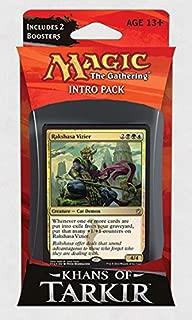 Magic: the Gathering: Khans of Tarkir - Intro Pack / Theme Deck: Rakshasa Vizier (Alternate Art Premium Rare Promo)