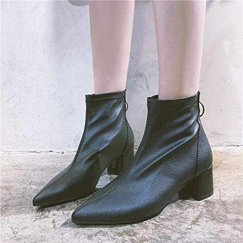 9999a9e6615a ventas en linea YMFIE zapatos de tacón Medio para para para mujer ...