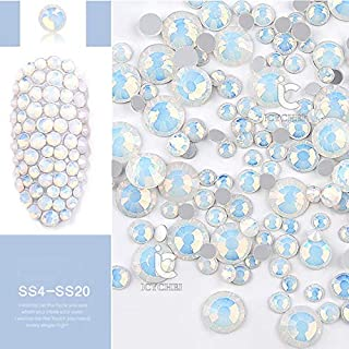 ICYCHEER Crystal AB 3D Nagel Kunst Strass Steentjes Mix Size Gems Flatback Stones DIY Decoraties Manicure Diamant Sieraden...