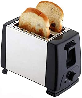 JYDQB Grille-Pain à 2 tranches, Extra Large Emplacement Compact Toasters en Acier Inoxydable for Pain Gaufres