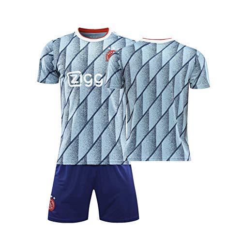 LCHENX-2020-2021 Ajax Football Club Ziyech #22 Fans Fußball Trikot Set für Erwachsene Kinder Fußballtraining tragen,D,M