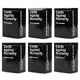Сards Аgainst Нumanity Expansion Packs Bundle 1-6 Black Box Case