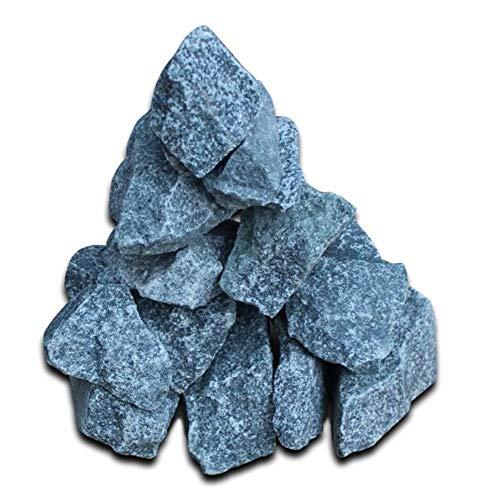 Zerone Piedras de Sauna, Piedras para Calefacción de Sauna 15 kg