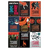 The Smiley Collection 9 Books Set By John Le Carré (Call For The Dead,A Murder Of Quality,The Spy Who Came in from the Cold,Looking Glass War,Tinker Tailor Soldier Spy,Honourable Schoolboy & More)