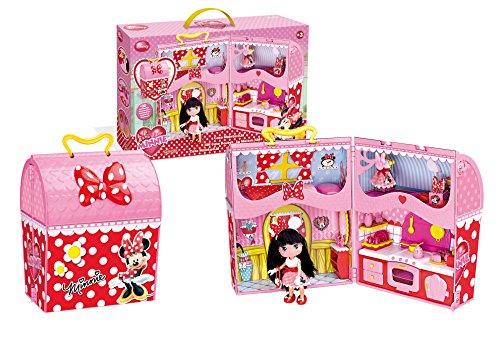 I Love Minnie Famosa 700010761 Mouse avec Mallette et Poignet, 55,1 x 35,1 x 12.7