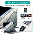 Macbook pro usb adapter, choetech 7-in-1 macbook air adapter with 4k hdmi, 2 usb 3. 0, 100w usb c power delivery, micro… 10 ✿7-in-1 usb c hub for macbook pro✿: equipped with 4k hdmi, thunderbolt 3 port, usb type-c port, 2 usb 3. 0 port, micro sd/sd card reader, this usb type c hub is a great expansion for new macbook pro/air that only have limited ports, certainty it's made your office or life much easier. ♥ note: this usb c adapter hub is specially designed for macbook pro 2019/2018/2017/2016 and macbook air 2019/2018. ✿powerful thunderbolt 3 port✿: the thunderbolt 3 port supports strong power input up to 100w, which gives your laptop max 87w pass-through charge while connecting peripherals, and up to 40gb/s ultra-high data speed and 5k@ 60hz video output; in addition, it's also compatible with usb c devices, support 10gb/s data transmissions and 4k@ 60hz output. ♥ note: the another usb-c port is only for data transfer, not for charging and video output. ✿crystal clear 4k hdmi output✿: mirror or extend the display of your macbook pro/macbook air to tv, monitor or projector up to 4k uhd (3840 x 2160 @ 30hz) resolution through the hdmi output port. Backward support 2k/ 1080p/ 720p/ 480p/ 360p resolutions.