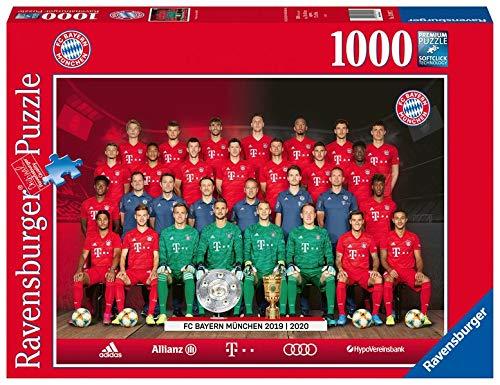 Ravensburger Puzzle 13997 - FC Bayern Saison 2019/20 - 1000 Teile