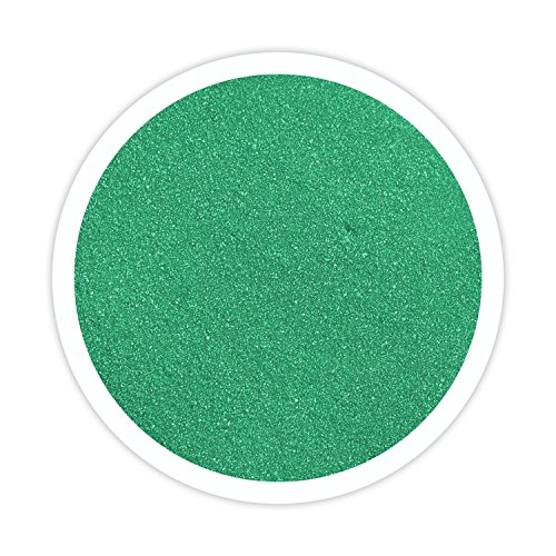 Sandsational Sparkle Emerald Green Unity Sand, 22 oz, Colored Sand for Weddings, Vase Filler, Home Décor, Craft Sand