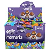 Milka Moments Chocolatinas De Tierno Chocolate Con Leche De Los Alpes - 1.000 G, 1000 Gramo