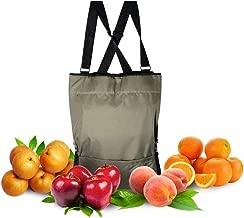HYINDOOR Garden Picking Apron Fruit Picking Bag Vegetable Harvest Storage Pouch Adjustable Size