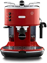 De'Longhi Eco 311.R Icona Vintage Koffiezetapparaat, Rood