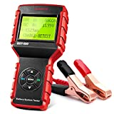 LAUNCH BST-500 Car Battery Tester 12V 24V Battery Load Tester,100-2000CCA Automotive Battery Alternator Tester for Cars/Boat/Truck/Lawn Mower, Compatible with Flooded AGM Gel EFB,etc.
