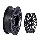 3D PLA Carbon Fiber Printer Filament, 1.75mm +/- 0.02mm Dimensional Accuracy 3D Printer Filament, 1KG Spool Filament for Most 3D Printers