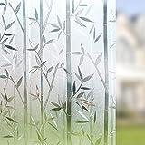 Película de Vinilo estática de protección de la privacidad para Ventanas, película de Vidrio Anti-Ultravioleta, Adecuada para Ventanas, Puertas, armarios D 30x100cm