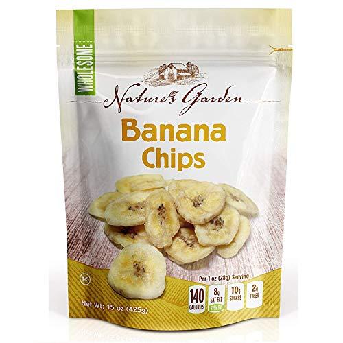 Nature's Garden Banana Chips - Dried - 15 oz.