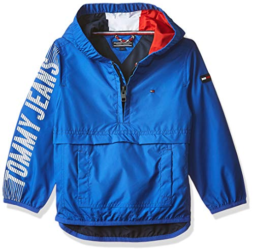 Tommy Hilfiger jongens jas/jack BOYS HOODED POP OVER JACKET