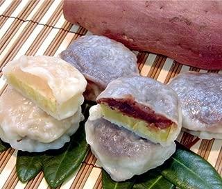秘密のケンミンSHOW いきなり団子 黒あん5個+白あん5個セット かんしょや 有機栽培サツマイモを使用した、モチモチの熊本銘菓。