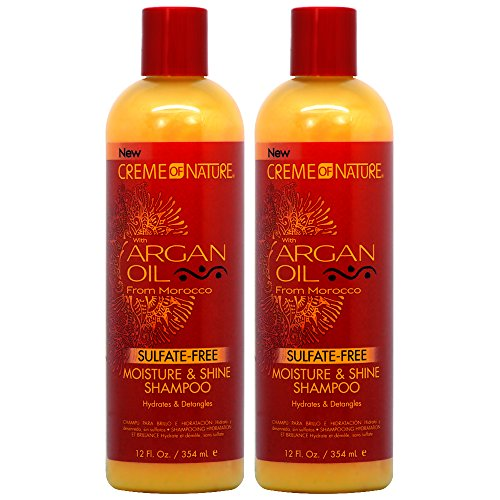 Creme of Nature Argan Oil Moisture & Shine Shampoo 12oz