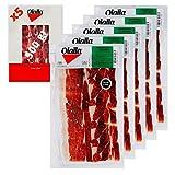 Olalla Paleta de Jamon Iberico de Cebo de Campo 50% Raza Iberica - 5 Sobres Loncheados de 100 gr, Total: 500 gr