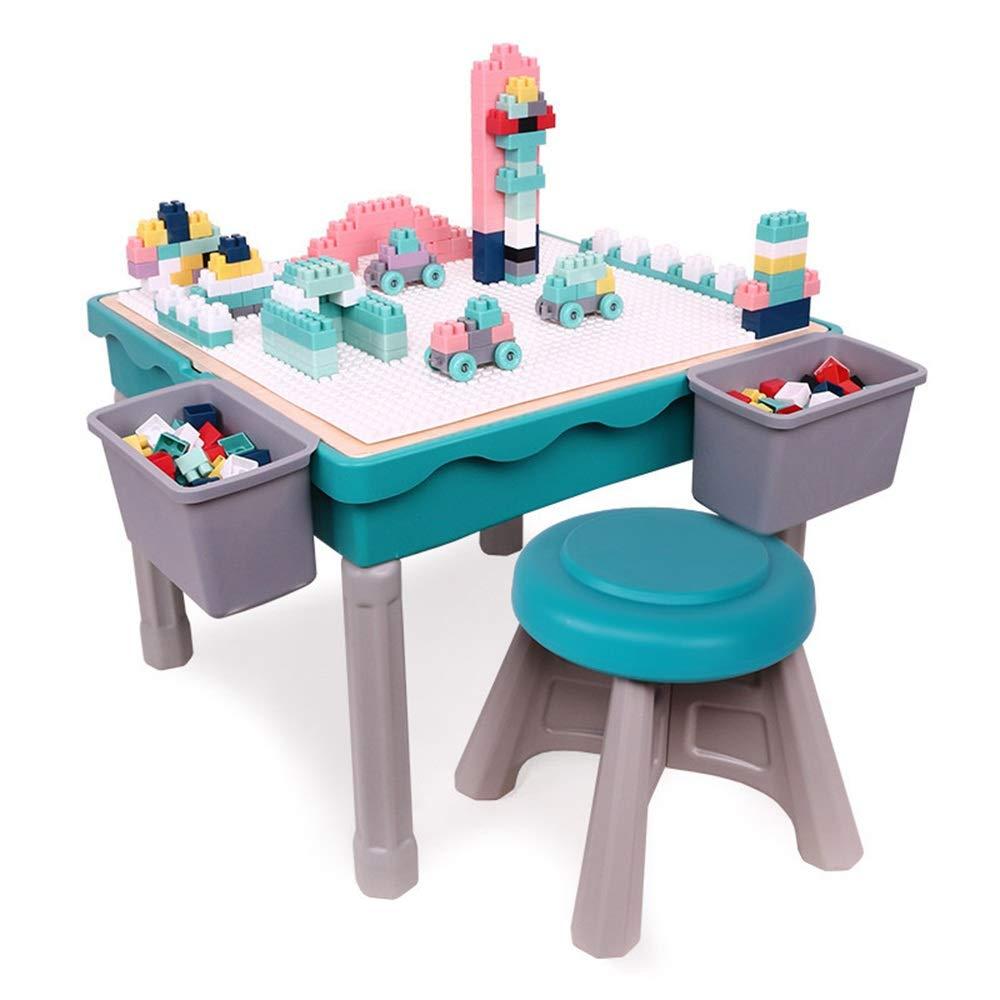 Puzzle Juguetes Educación temprana Rompecabezas Partículas Bloques de construcción Mesa de juguete Bloques for bebés 3-8 años Mesa de aprendizaje for juegos multifunción for niños Los primeros juguete: Amazon.es: Hogar