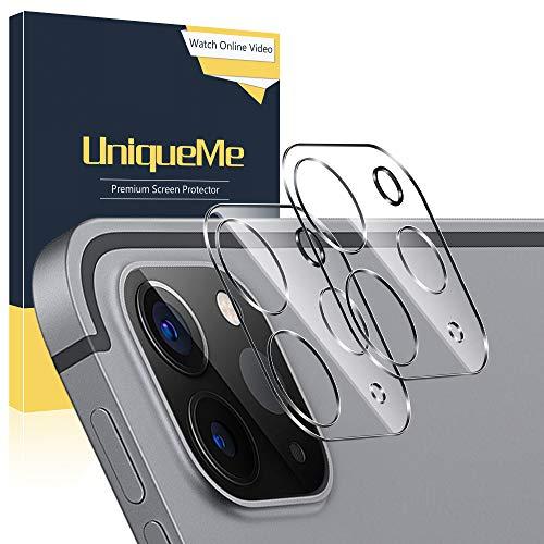 UniqueMe [ 2 Stück Schutzfolie für iPad Pro 11 2020, Panzerglas Kamera für iPad Pro 11 2020 Kamera Schutzfolie Linse.