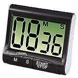 Xavax Digitaler Küchentimer mit Timer- und Stopp-Uhr-Funktion (Befestigung via Magnet, Clip,...