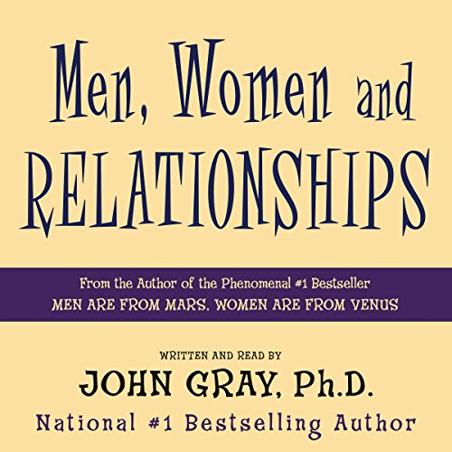 Page de couverture de Men, Women and Relationships