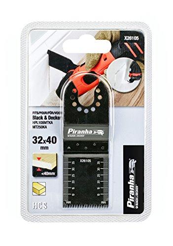 Preisvergleich Produktbild Piranha HCS-Präzisions-Sägeblatt (für Holz,  32 x 40 mm,  15 Zähne / Inch,  für HPL108MTKA / MT250KA,  max. 40 mm) X26105