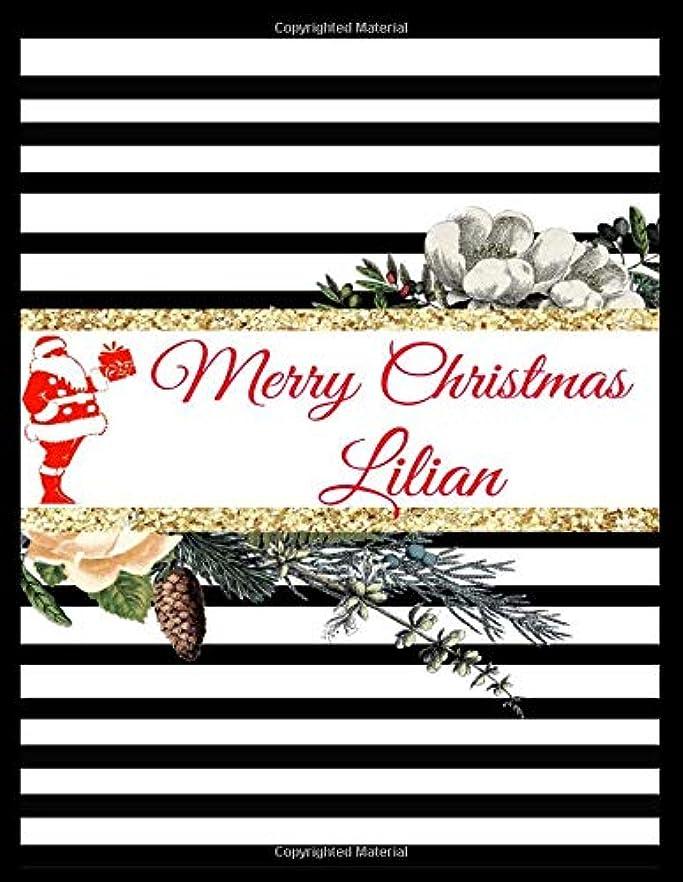 異常な脳兵士Merry Christmas Lilian: Customized Christmas Name Lined Journal Notebook Diary to Write In, Ruled Composition Planner, For Home Work Stationery, Great Gift for Girls Women, Birthdays, Graduation and Much More. (Xmas Season Gifts)