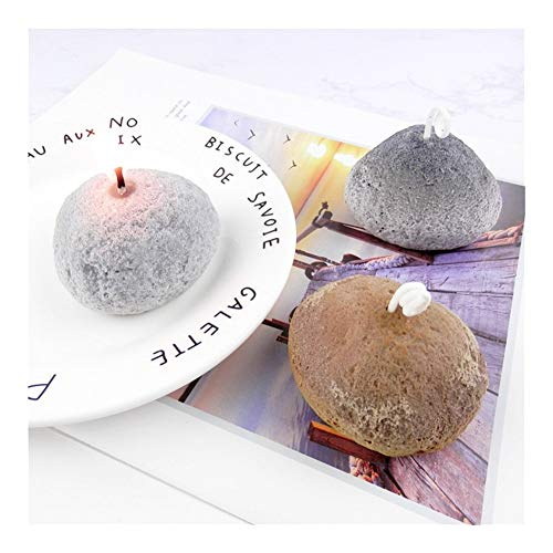 HONGTAI Steinform-Kerze-Form Aroma-Kerze Gipsformseifenherstellung Seifen Silikon Formen Macarons Plätzchen-Backen-Form