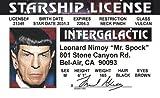Signs4Fun (Former Galan) Star Trek Driver licence Mr. Spock Style