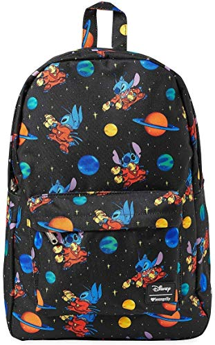 Loungefly x Disney Lilo and Stitch Space Allover-Print Nylon Backpack