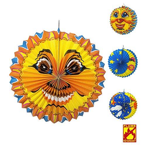 Widmann 2278K Globus Sonne und Mond, Unisex– Erwachsene, Mehrfarbig, Taglia unica