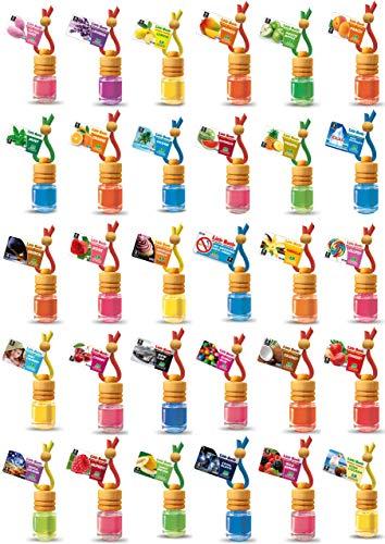 7 L&D Little Bottle Duftflakons fürs Auto und Wohnung MIX DIR WAS nach freier Duftwahl aus 25 Duftsorten.