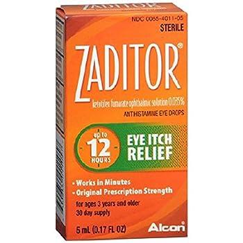 Zaditor - Antihistamine Eye Drops - 0.17 oz - Drop-MCK