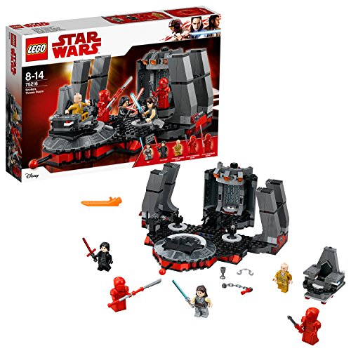 LEGO Star Wars Snokes Thronsaal (75216), Star Wars Spielzeug