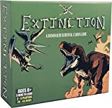 Extinction - Strategic Dinosaur Board Game - Family Friendly Battle Royale/ Survival Card Game - for Adults, Teens and Kids, Fun Game Nights